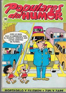 Revista Populares Del Humor N° 30 Mortadelo Y Filemon 1988