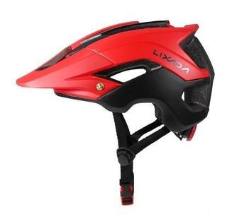 Capacete Ciclismo Mtb Bike Mold Lixada 56 A 62cm Red/black