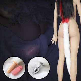 Juguete Sexual Plug Anal Vibrador Cola De Zorro Xtreme P