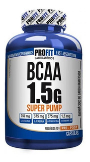 Bcaa 1.5 Super Pump 60 Caps