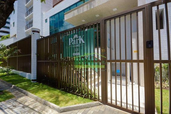 Apartamento Com 1 Dormitório Para Alugar, 33 M² Por R$ /mês - Aflitos - Recife/pe - Ap1346