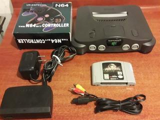 Nintendo 64 +juego Original Mortal Kombat 4 (funcionando)