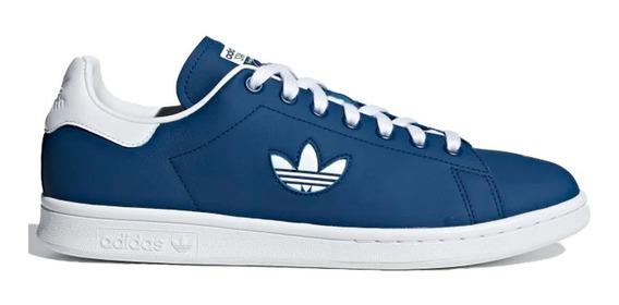Tenis Originals De Piel Stan Smith Hombre adidas G27998