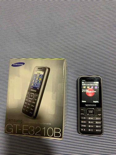 Celular Samsung Gt-e3210b Na Caixa Original Com Manual
