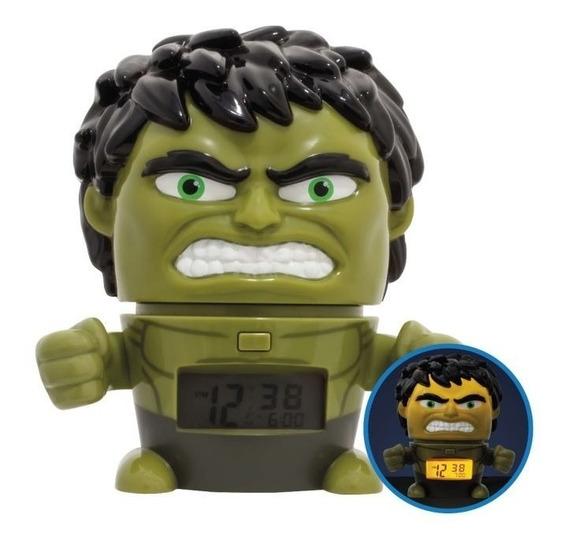 Reloj Avengers Hulk Luz Y Sonido Lego & Bulbbotz Oficial