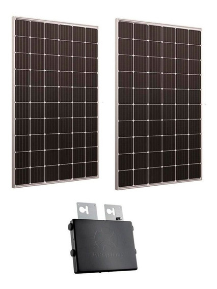Kit 200kwh 2 Paneles Solares Poly 330w Inversor Aps 600w 220