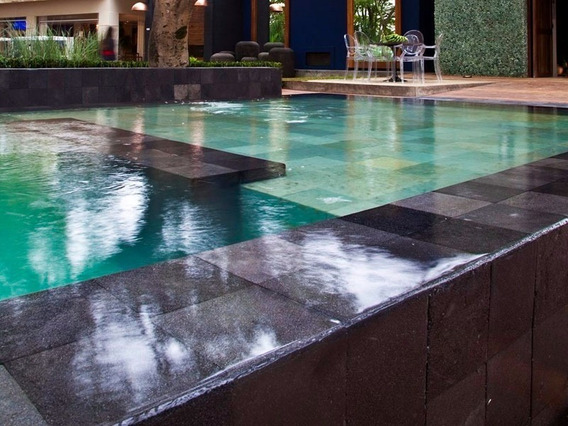 Revestimiento Piscina Natural - Green Stone - Piedra Bali