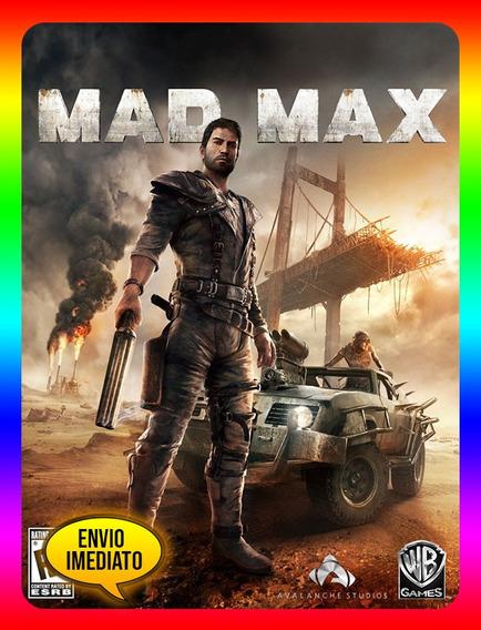 Mad Max Pc - Steam Key (envio Já)