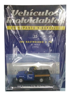 Coleccion Inolvidables Reparto Servicio N35 Rastrojero Trole