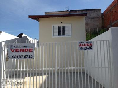 Casa Para Venda Em São José Dos Campos, Jardim Santa Júlia, 2 Dormitórios, 1 Banheiro, 2 Vagas - 202v