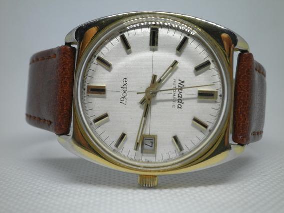 Reloj Nivada Vintage Bien Cuidado, Automático