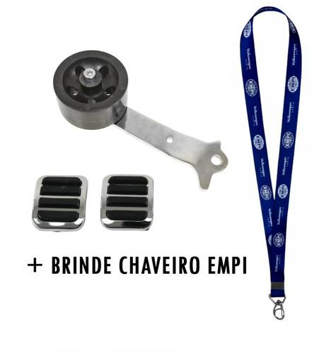 Pedal Acelerador Roller Fusca + Capa Pedal Empi