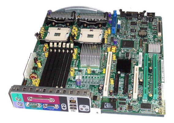 Placa Mãe Servidor Dell Poweredge 1800 Pn Dell P8611 0hj161