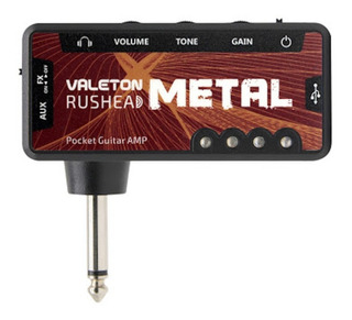 Rushead Metal Amplug Valeton