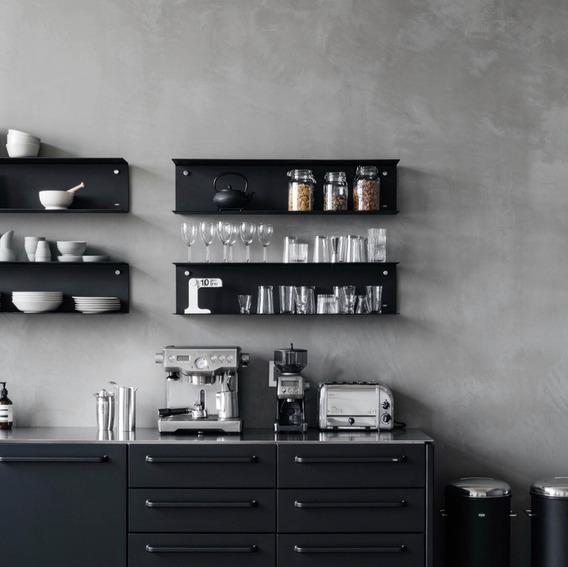 Estante Cocina Chapa Moderno Nórdico Escandinavo Minimalista