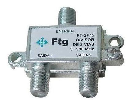 Divisor De Antena Ft-sp 12 (1-entrada + 2 Saídas 75r) Ftg