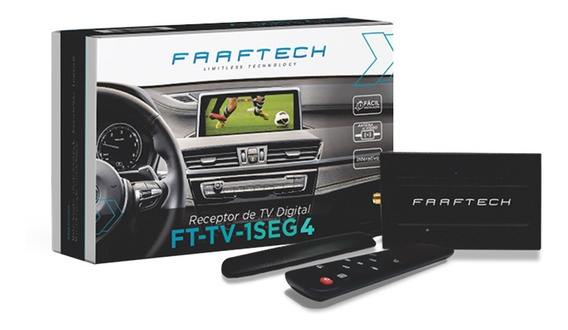 Receptor De Tv Digital Automotivo Sintonizador Faaftech