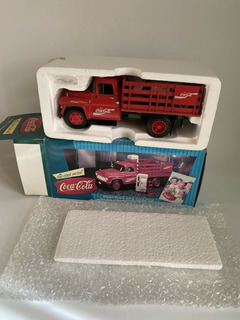 1957 Chevy Stake Truck With Vending Machines & Dolly Cart.co