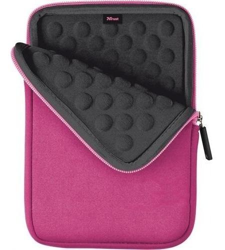 Capa Case Anti-choque Neoprene Tablet 7-8 iPad Mini Rosa