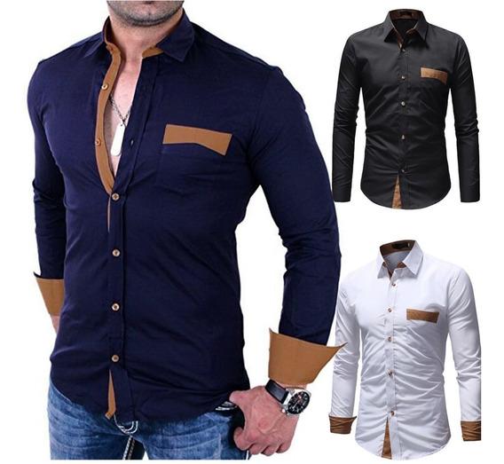 Camisas Para Caballeros Y Niños Slim Fit (14 Vrds)