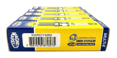 Imagem 1 de 4 de Jogo Vela Marea Weekend Stilo 2.0 2.4 20v 2 Eletrodo K6rdymm
