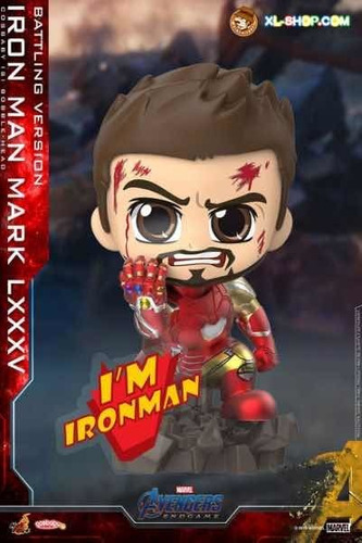 Hot Toys Cosbaby Mark 85 I Am Ironman Avengers Fpx Iron Man