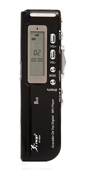 Gravador De Voz Knup Kp-8004 C/nf