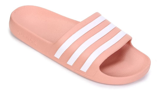 Chinelo Slide Feminino adidas Adilette Aqua Rosa G28714