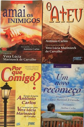 4 Vera Lucia Marinzeck - O Ateu + Amai Os Inimigos +2 Livros