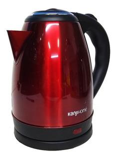Pava eléctrica Kanji KJH-PE0151S roja 220V 1.8L