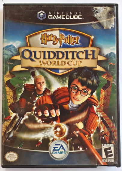 Jogo Harry Potter Quidditch World Cup Nintendo Gamecube Game