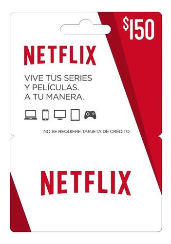 Tarjeta De Regalo $150 Netflix Envio Full