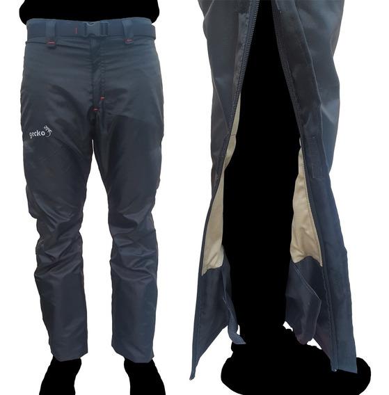 Pantalon Over Pant Termico Impermeable Moto Trecking Gecko
