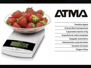 Balanza De Cocina Digital - Atma