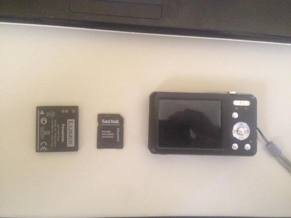 Câmera Compacta Usada - Panasonic Lumix Dmc-fh4-funcionand
