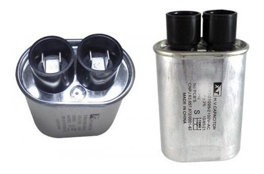 Kit Com 10 Un Capacitor Alta Tensão Microondas 0,90uf 2100v