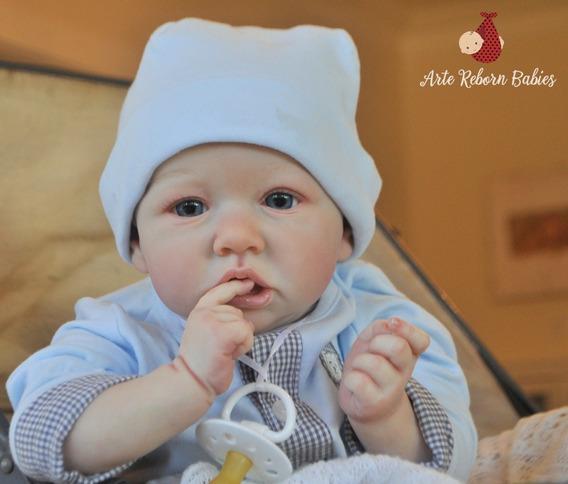 Bebe Reborn Menino Barato Carequinha Pronta Entrega Lindo
