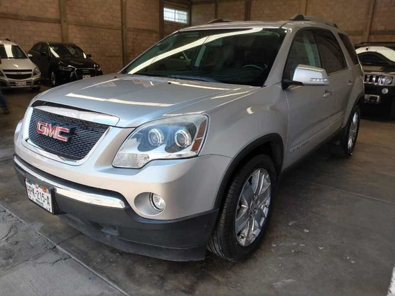 Gmc Acadia 3.6 C 7 Pas Qc Piel 4x4 At 2011