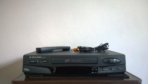 Imagen 1 de 8 de Videocasetera Mitsubishi Vhs Mod. Hs- U575 Control Retroilum