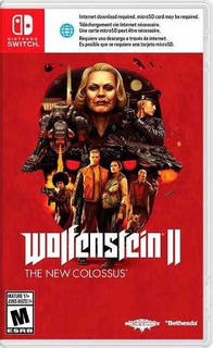 Juego Nintendo Switch Wolfenstein 2 The New Colossus