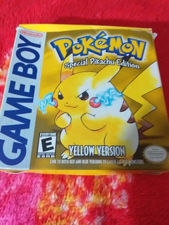 Pokemon Yellow Edition Special Pikachu Gameboy