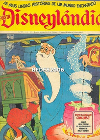 Disneylândia Nº 35 - Editora Abril - 1972