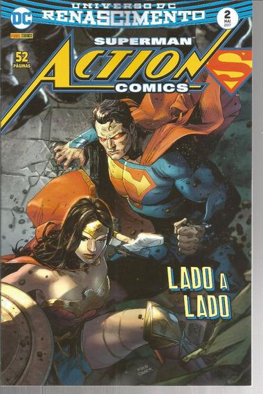 Superman Action Comics 2 - Panini 02 - Bonellihq Cx122 I19