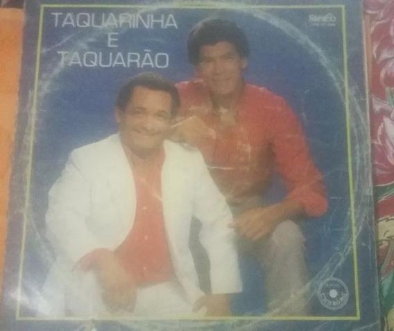 Lp Vinil Taquarinha E Taquarão - 1989