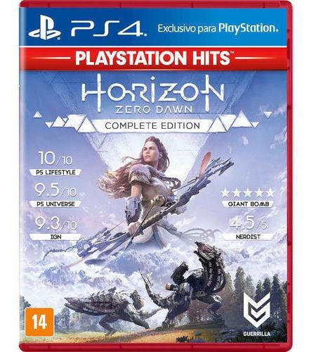 Jogo Horizon Zero Dawn Complete Edition Ps4 Mídia Física