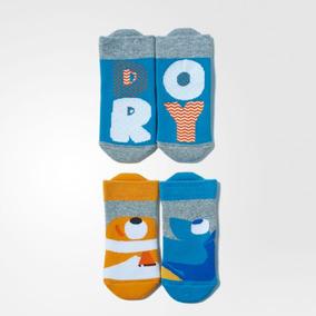 Meia adidas Disney Nemo/dory -pac Com 02 Pares- Original