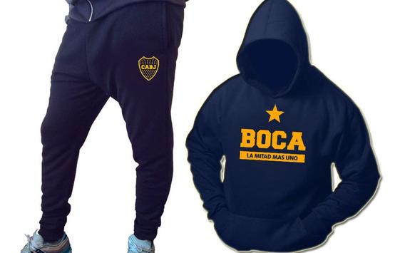 Conjunto Boca Juniors Oferta!! Talle 4
