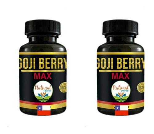 Pastillas Para Bajar Peso 2 Meses De Goji Berry Max  Premium