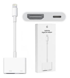 Adaptador Lightning Apple Md826am/a Hdmi Y Video Digital