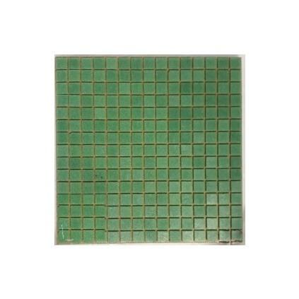 Venecitas Biseladas Color Verde 2x2 Para Piletas